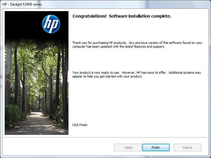 Review: Hewlett Packard Deskjet F2480 with Windows 7 and Windows Live