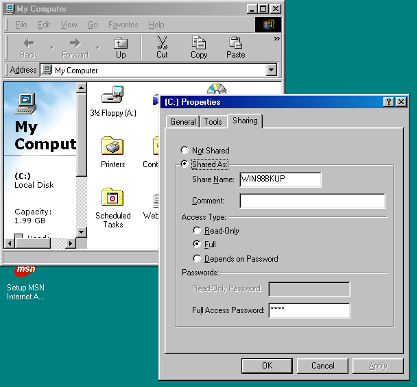 how to show network password windows 7