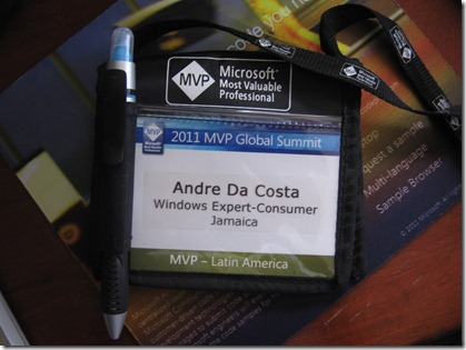 MVP Badge 2011
