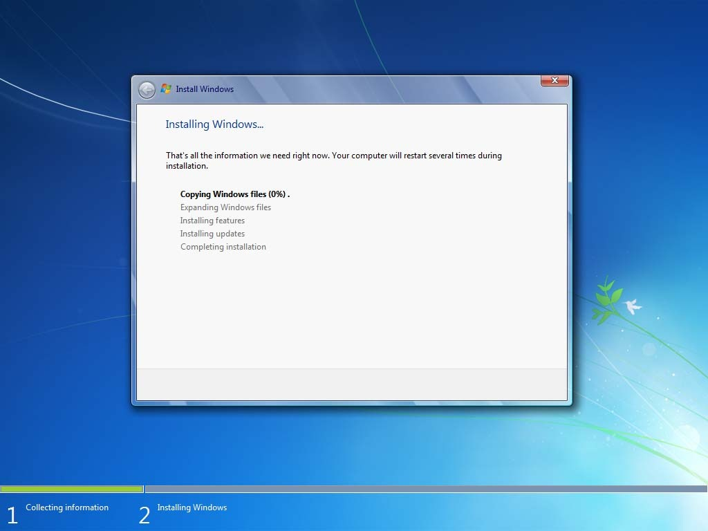 Файлы установки windows 7 скачать