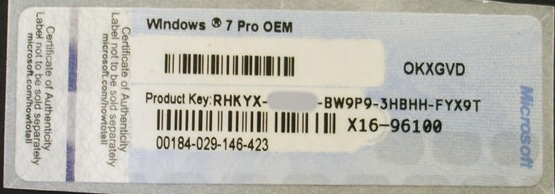 can an oem licence key be used to activate a retail disc installation microsoft community. Black Bedroom Furniture Sets. Home Design Ideas