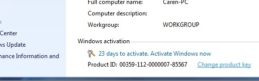 How to activate Windows 7 OEM license using a retail disc