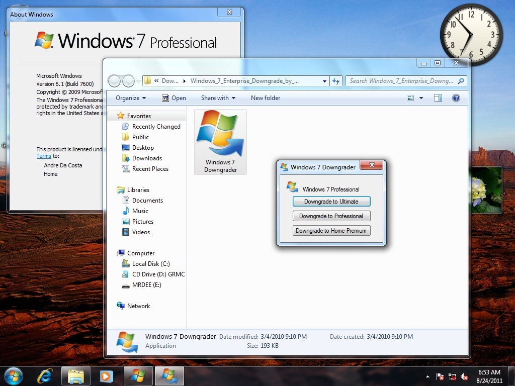 windows 7 home premium update 10
