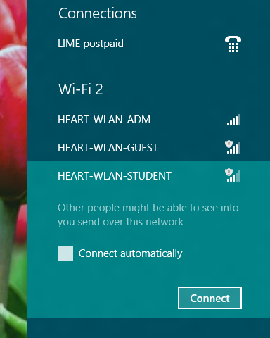 how to connect wifi in windows 8 manually