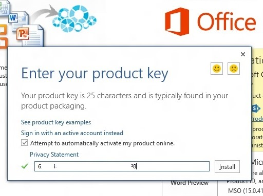 ms office 2013 with activation key