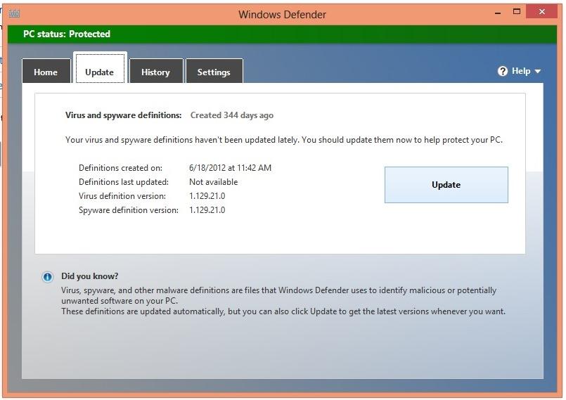 Windows defender vista update download windows live messenger updates 2008