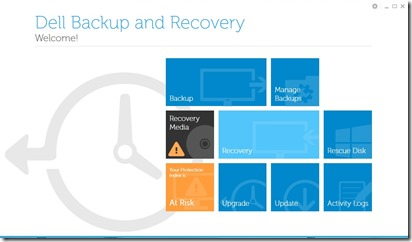Recovery dell 3