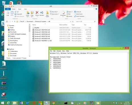 update to windows 81